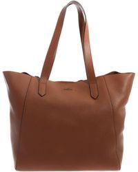 Hogan - Tan-color Shopping Shoulder Bag - Lyst