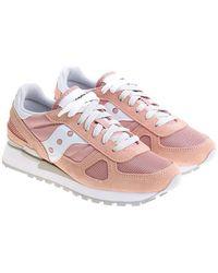 Saucony - Pink Shadow Original Sneakers - Lyst