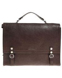 Orciani - Dark Brown Shoulder Bag - Lyst