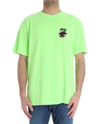 Stussy - Green Surfman T-shirt - Lyst