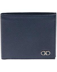 Ferragamo - Leather Wallet - Lyst