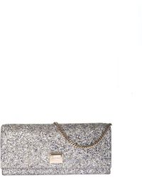 Jimmy Choo - Lilia Bag In Multicolor Glitter - Lyst