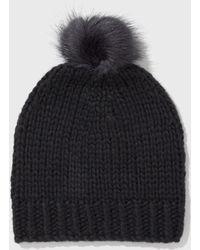 Helmut Lang - Handknit Pom Hat - Lyst