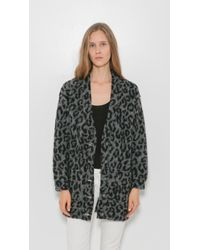 R13 Leopard Cardigan | Lyst