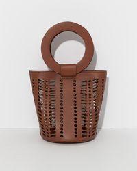 Modern Weaving - Terra Mini Jute Circle Handle Bucket - Lyst