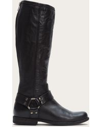 Frye - Phillip Harness Tall Wide - Lyst