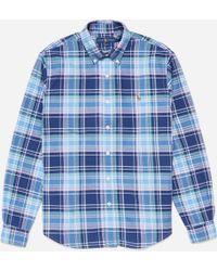 Polo Ralph Lauren - Slim Fit Oxford Check Shirt - Lyst