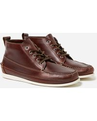 G.H.BASS - G.h.bass & Co Camp Moc Ranger Pull Up Leather - Lyst