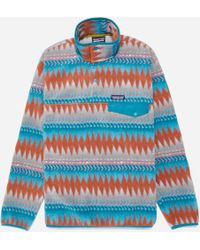 Patagonia - Lw Synchilla Snap T Pullover - Lyst