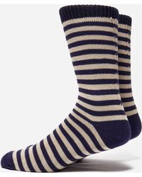 Universal Works - Stripe Socks - Lyst