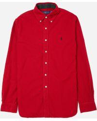 e3eabbb3 Polo Ralph Lauren Big And Tall Long Sleeve Shirt Aerial Blue 3xlt ...