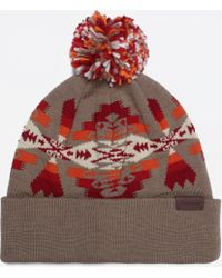 bbed7c2119c Lyst - Pendleton Cuffley Crushable Water-repellent Wool Cap in Gray ...