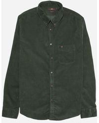 Lee Jeans - Cord Button Down Shirt - Lyst