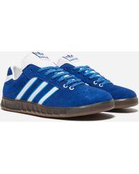 Handball Kreft Spezial Leather-trimmed Suede Sneakers - Royal blueadidas Originals fNIzgwm