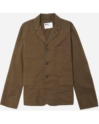 MHL by Margaret Howell - Slant Pocket Blazer - Lyst