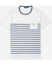 Polo Ralph Lauren - Jersey Stripe T-shirt - Lyst