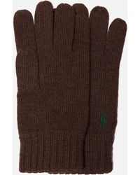 Polo Ralph Lauren - Merino Wool Gloves - Lyst