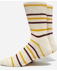 Anonymous Ism - Cotton Border Socks - Lyst
