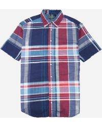 Gitman Brothers Vintage - Big Madras Shirt - Lyst