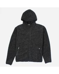 Universal Works - Wool Fleece Surfer Hoodie - Lyst