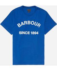 Barbour - Tiverton T-shirt - Lyst