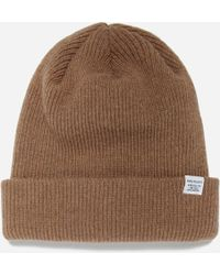 a4023d17172 Norse Projects Norse Top Beanie in Gray for Men - Lyst