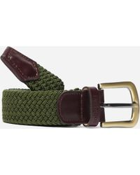 Barbour - Stretch Webbing Belt - Lyst