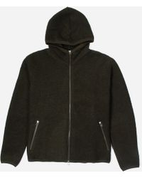 Universal Works - Wool Fleece Hoodie - Lyst