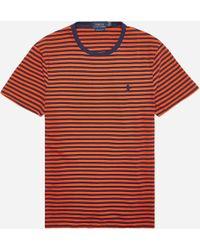 Polo Ralph Lauren - Stripe Jersey T-shirt - Lyst