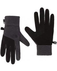 d63a7b1ed7 The North Face - Etip Gloves Dark Grey Heather - Lyst