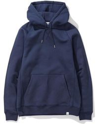 Norse Projects - Ketel Classic Hood Navy - Lyst