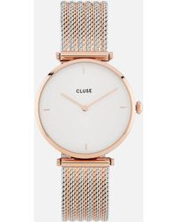 Cluse - Mixed Mesh Watch - Lyst