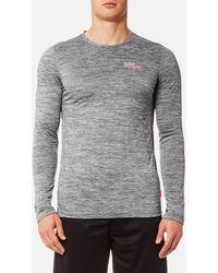 Superdry - Core Train Spacedye Long Sleeve T-shirt - Lyst