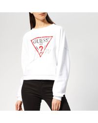 Guess - Icon Jumper - Lyst