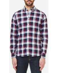 Tommy Hilfiger - Inger Checked Long Sleeve Shirt - Lyst