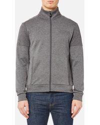 BOSS Green - Men's Skaz Zipped Sweatshirt - Lyst