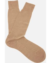 Pantherella - Men's Labernum Merino Rib Socks - Lyst