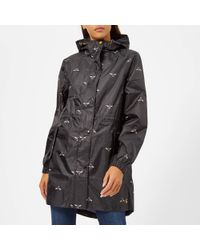 Joules - Golightly Waterproof Packaway Coat - Lyst