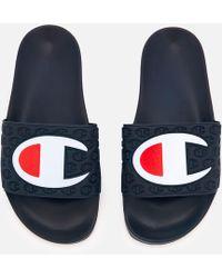 Champion - Pool Slide Sandals - Lyst