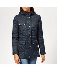 Barbour - Penhal Quilted Coat - Lyst