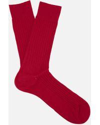 Pantherella - Danvers Classic Cotton Socks - Lyst