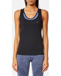 Asics | Fitted Tank Top | Lyst