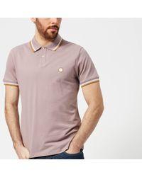 Pretty Green - Bassline Short Sleeve Polo Shirt - Lyst