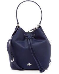 Lacoste | Women's Bucket Bag | Lyst