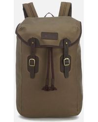 Barbour - Wax Leather Backpack - Lyst