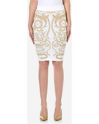 Versace Jeans - Knitted Skirt - Lyst
