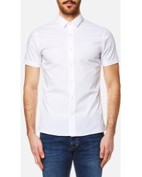 CALVIN KLEIN 205W39NYC - Men's Wings Short Sleeve Shirt - Lyst