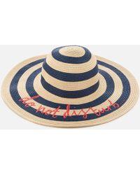 Joules - Do Not Disturb Hello Sunshine Sun Hat - Lyst