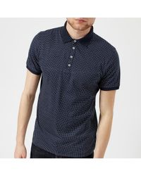 Ted Baker - Boxer Geo Print Polo Shirt - Lyst