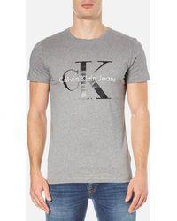 Calvin Klein - Re-issue Crew Neck T-shirt - Lyst